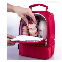 China Cute Kids Lunch Bags / Thermos Childrens Lunch Bag With Bottle Holder wholesale