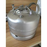China Professional 1.75gallon Ball Lock Keg With Pressure Relief Valve And Lids wholesale