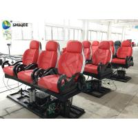 China Realistic 6D Cinema Equipment With Excited Motion Chair And Cinema Special Effects wholesale