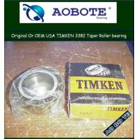 China High Speed Timken Tapered Roller Bearing to rolling mill machinery 3382 wholesale