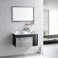 China 304 Stainless Steel Bathroom Cabinet for Whole Body, Fashionable Style, Simple but Practical on sale