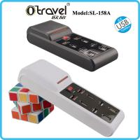 China Otravel SL-158A surge protector extension socket travel usb power strip with Smart quick charging USB wholesale