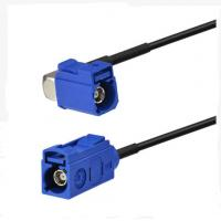 Buy cheap RF design RF Pigtail Cable blue Fakra C Jack with RA Female and blue Fakra C from wholesalers