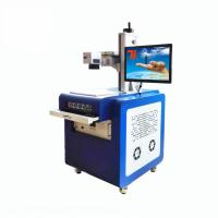 China Cold Light Source Glass Engraving Machine For Plastic Crystal UV Laser Marking wholesale
