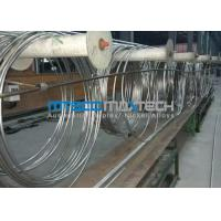 China TP304 9.53 x 0.71 x 172000 mm Coiled Stainless Tubing Mesh Belt Furnace Annealing wholesale