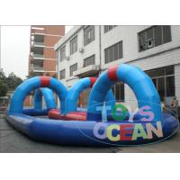 China CE Inflatable Sport Games Go Kart Electric Bumper Racing Track Happy Area wholesale