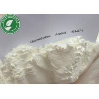 China Androgenic Anabolic Steroid Oxymetholone Anadrol For Fat Loss CAS 434-07-1 wholesale
