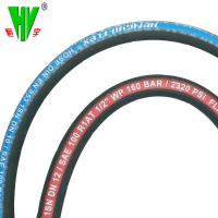 China China hydraulic hose pipe manufacturers supply steel wire braided rubber 6mm hydraulic hose wholesale