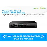 China HDMI / USB / RCA Interface DVB S2 Set Top Box HD With CAS 4.2 Intergited on sale