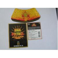 China Anti Ultraviolet Metalized Labels Wet Strength Paper Beer Body Label Four Or Six Colors wholesale