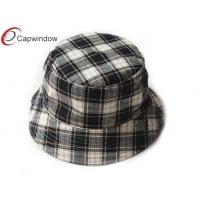 Quality Classical Fisherman Cap Bucket Hat Allover Ripstop Pattern Printing for sale