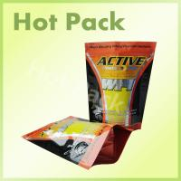 China Different Flavor Whey Protein Powder Packaging Bags Plastic Custom Printed on sale