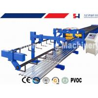 China Air-operated Metal Deck Roll Forming Machine High Frequency wholesale