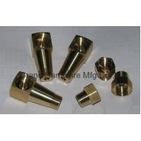China precision OEM service CNC  brass turning parts (NPT,BSP,G thread,Metric thread are available) on sale