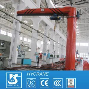 China 1ton 3ton 5ton 10ton Pillar Mounted Free Standing Jib Crane wholesale