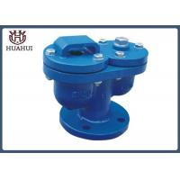 China Blue Color Safety Air Relief Valve , Double Orifice Valve Epoxy Painting wholesale