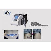 China Multifunction Q-Switch Long Pulse Nd Yag Laser Hair Removal Machine For Pigmention wholesale