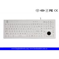 China Norway Layout Silicone Waterproof Keyboard With Trackball And Customizable Layout wholesale