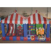 China Kids Inflatable Interactive Games , 4 in 1 Inflatable Midway Carnival Game wholesale