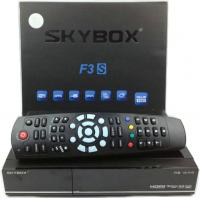 Quality Original Skybox F3S HD Satellite Receiver with Card Sharing CCcam Newcam MGcam for sale