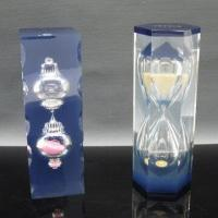 Quality Resin Hourglass for Promotion, Logo is Silk Printed or Embedded for sale