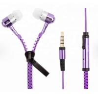 Buy cheap zipper Customized Promotional Gifts , LED Light Up Headphones Customize Color from wholesalers