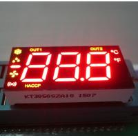 China Ultra Red / Yellow 7 Segment LED Display 0.5 Inch Common Anode For Refrigerator Control wholesale