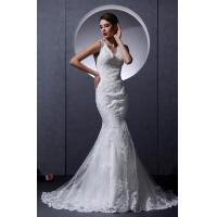 Quality 2013 New Designer Beaded Romantic Lace Wedding Gowns Mermaid V Neck Party Dress for sale