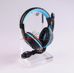 China Deflect-o Acrylic Headphone Display Stand,121x121x245(mm) wholesale