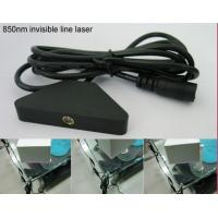 Quality 850nm 50mw infrared line laser module for touch screen for sale