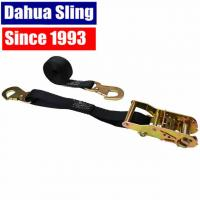 China OEM Quick Release Polyester Dahua Sling Cargo Strapping With Snap Hook on sale