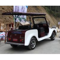 China 4 Seats Electric Vintage Cars With Powerful Motor Classic Tour Car Old Style wholesale