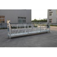 China 3 Phase Rope Suspended Platform Hot Galvanized 7.5m Zlp800a For Wall Painting wholesale