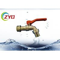 China 3 / 4 Inch Bibcock Taps For Water Using High Pressure Different Size Optional wholesale