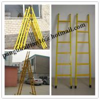 China Fiberglass step ladder&hot selling ladder,A-shape fiberglass insulated ladders wholesale