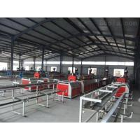 China 60HZ Full Automatic Plastic Profile Extrusion Line With Double Conical Screw wholesale