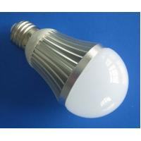 China Low energy household 5W E27 Dimmable LED Light Bulbs fixtures 85V - 265V AC, 450lm wholesale