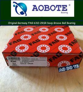 Buy cheap High Speed FAG Roller Bearings 6312-2RSR , Single Row Ball Bearings from wholesalers
