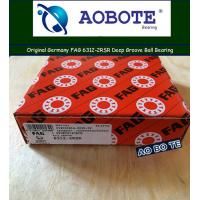 Buy cheap High Speed FAG Roller Bearings 6312-2RSR , Single Row Ball Bearings from wholesalers