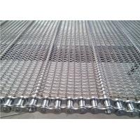China Stainless Steel Chain Conveyor Belt High Strength Customized For Food Baking wholesale