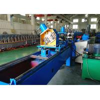 China C Section Bracing Roll Forming Machine, Rack Diagonal Bracing Roll Forming Line wholesale