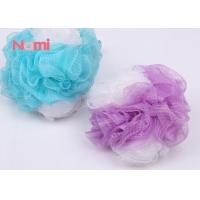 Natural Large Shower Bath Sponge Body Exfoliating Costomized With Long Rope