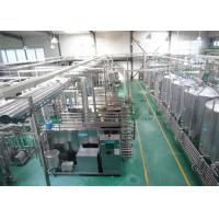 China Aseptic Brick Carton Package Aseptic Beverage Filling Machine , Water Bottle Filling Machine wholesale