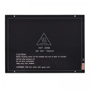 China 220mm*275mm*3mm 24V 200W MK3 3D Printer Heatbed Aluminum Substrate wholesale