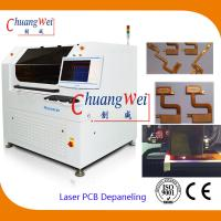 China 10W UV Laser PCB Cutter Machine / Depaneling Machine With 460 * 460mm Working Area on sale