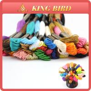 China Cotton mercerizing Machine Embroidery Threads for cross stitch wholesale