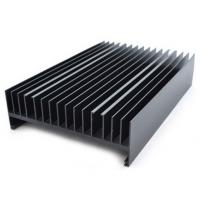 China Powder painted Aluminium Heatsink Extrusions Black With CNC Machining wholesale