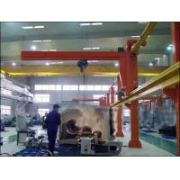 China Heavy-Duty Free Standing Jib Crane For With Electric Wire Rope Hoist For Material Handling wholesale