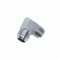 China High Pressure Flared 90 Elbow  Stainless Steel Hose Adapter on sale