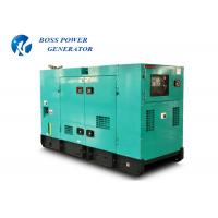 China 50HZ Three Phase 100Kva Cummins Diesel Generator Set Silent Running 144A Rated Current on sale